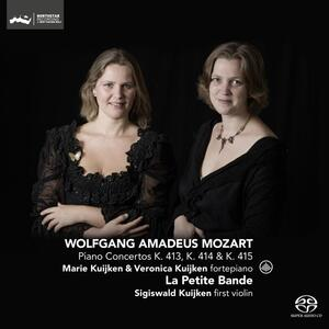 Concerti per Pianoforte - SuperAudio CD di Wolfgang Amadeus Mozart