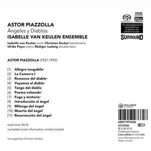 Angeles y diablos - SuperAudio CD di Astor Piazzolla - 2