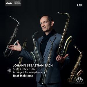 Suites per Violoncello - SuperAudio CD di Johann Sebastian Bach,Raaf Hekkema