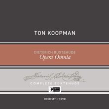 Opera Omnia. Buxtehude Collector's Box (Box Set) - CD Audio + DVD di Dietrich Buxtehude,Ton Koopman