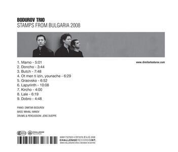Stamps from Bulgaria 2008 - CD Audio di Bodurov Trio - 2