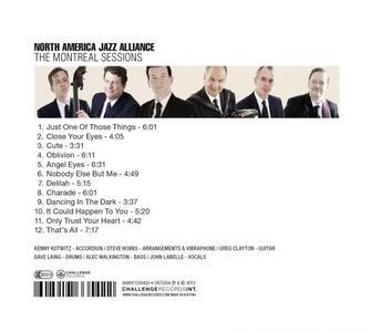 Montreal Sessions - CD Audio di North America Jazz Alliance - 2