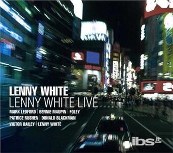 Live - CD Audio di Lenny White