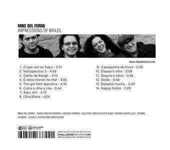 Impressions of Brazil - CD Audio di Mike Del Ferro - 2