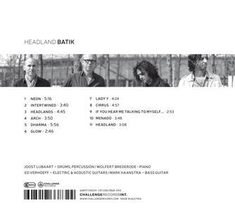 Headland - CD Audio di Batik - 2