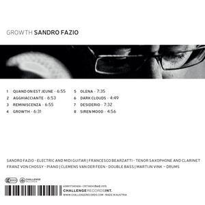 Growth - CD Audio di Sandro Fazio - 2