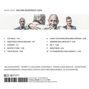 Dear John - CD Audio di Jan Van Duikeren - 2
