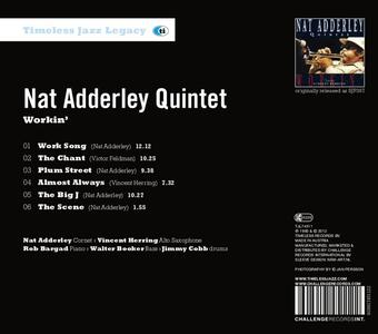Workin' - CD Audio di Nat Adderley - 2