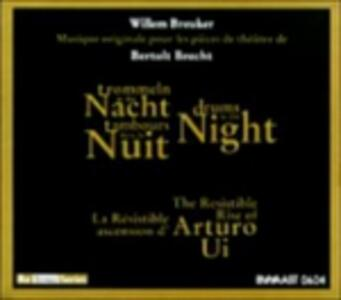 Drums In The Night - CD Audio di Willem Breuker