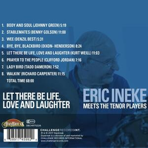 Let There Be Life, Love - CD Audio di Eric Ineke