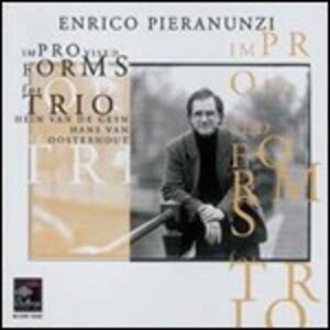 Improvised Forms for Trio - SuperAudio CD ibrido di Enrico Pieranunzi