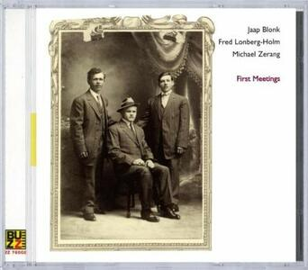 First Meetings - CD Audio di Jaap Blonk