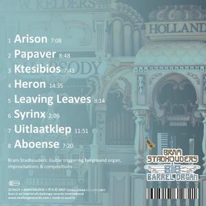 Big Barrel Organ - CD Audio di Bram Stadhouders - 2