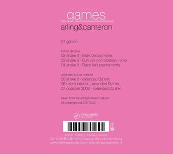Games-Singles Two - CD Audio Singolo di Arling & Cameron - 2