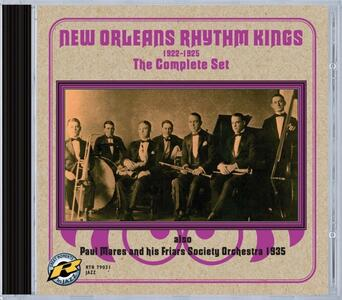 Complete Set - CD Audio di New Orleans Rhythm Kings - 2