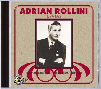 1937-1938 - CD Audio di Adrian Rollini