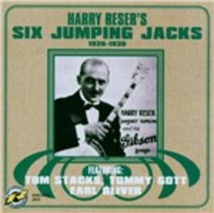 Six Jumping Jacks 1926-30 - CD Audio di Harry Reser