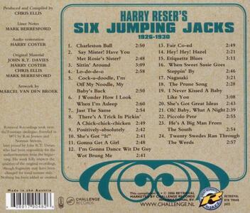 Six Jumping Jacks 1926-30 - CD Audio di Harry Reser - 2