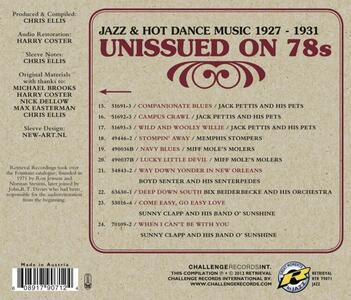Unissued on 78s - CD Audio - 2