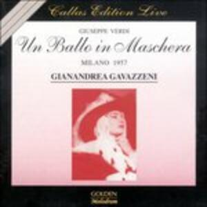 Un ballo in maschera - CD Audio di Giuseppe Verdi