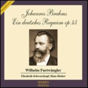 Un Requiem tedesco (Ein Deutsches Requiem) - CD Audio di Johannes Brahms