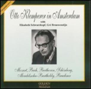 Otto Klemperer in Amsterdam - CD Audio di Otto Klemperer,Elisabeth Schwarzkopf,Gré Brouwenstijn