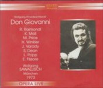 Don Giovanni - CD Audio di Wolfgang Amadeus Mozart,Wolfgang Sawallisch