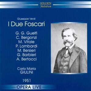 I due foscari - CD Audio di Giuseppe Verdi,Carlo Maria Giulini