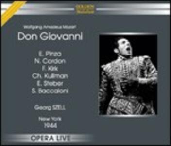 Don Giovanni - CD Audio di Wolfgang Amadeus Mozart,George Szell