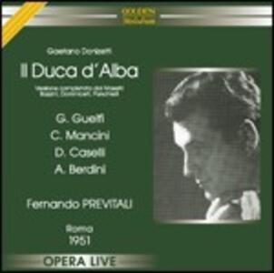 Il duca d'Alba - CD Audio di Gaetano Donizetti