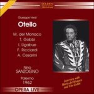 Otello. Palermo - CD Audio di Giuseppe Verdi