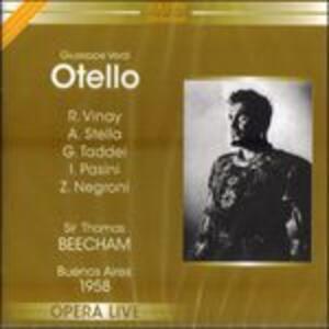 Otello - CD Audio di Giuseppe Verdi,Carlos Kleiber,Carlo Cossutta,Julia Varady
