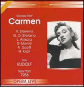 Carmen - CD Audio di Georges Bizet,Giuseppe Di Stefano,Risë Stevens,Max Rudolf