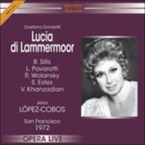 Lucia di Lammermoor - CD Audio di Gaetano Donizetti