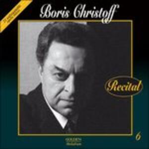 Recital - CD Audio di Boris Christoff