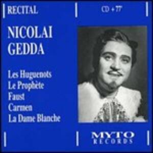 Recital - CD Audio di Nicolai Gedda