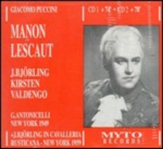 Manon Lescaut - CD Audio di Giacomo Puccini