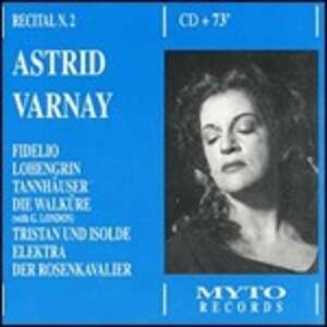 Recital - CD Audio di Astrid Varnay