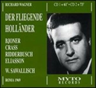L'olandese volante (Der Fliegende Holländer) - CD Audio di Richard Wagner,Wolfgang Sawallisch