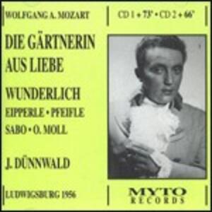 Gärtnerin aus Liebe - CD Audio di Wolfgang Amadeus Mozart