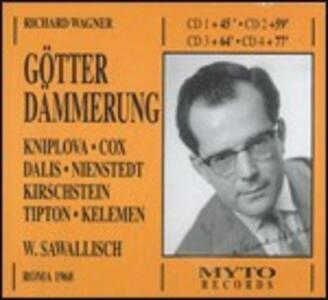 Il crepuscolo degli dèi (Gotterdämmerung) - CD Audio di Richard Wagner