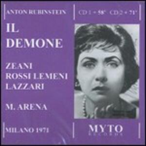 Il demone - CD Audio di Anton Rubinstein