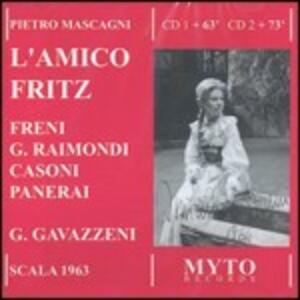 L'amico Fritz - CD Audio di Pietro Mascagni