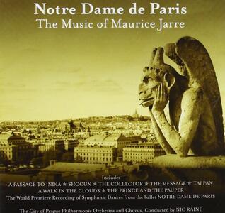 Notre Dame De Paris (Colonna Sonora) - CD Audio di Maurice Jarre