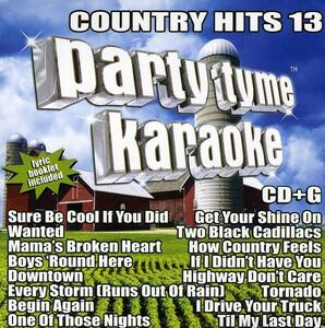 Country Hits 13 - CD Audio