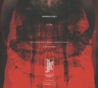 Monolithe - CD Audio di Monolithe - 2
