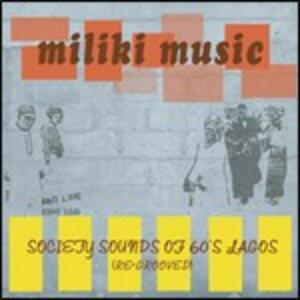 Miliki Music. Society Sounds of 60's - CD Audio