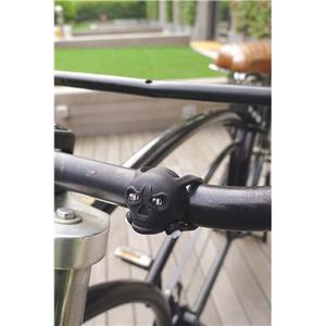 Idee regalo Luce per bicicletta Skull Bike Lights Kikkerland 1