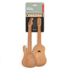 Posate in legno Guitar Utensils - 2