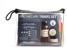 Idee regalo Apothecary Travel Set. Barattoli da viaggio Kikkerland